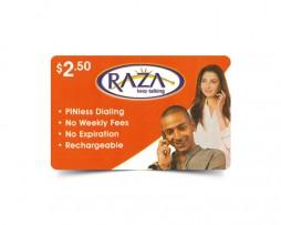 Raza calling card